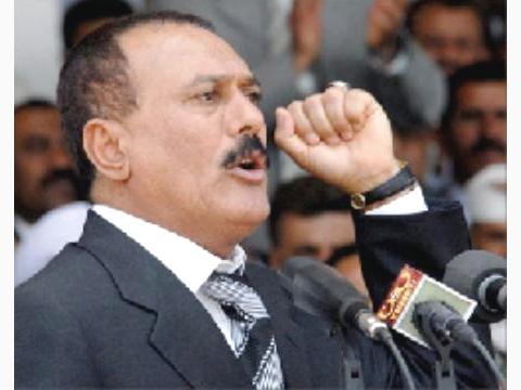 صالح يدعو إلى فتح «باب التطوع» للدفاع عن غزة