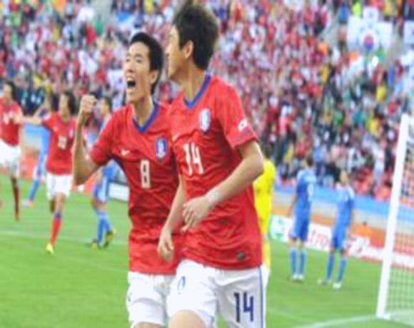 كوريا الجنوبية تفوز على اليونان بهدفين نظيفين في المونديال