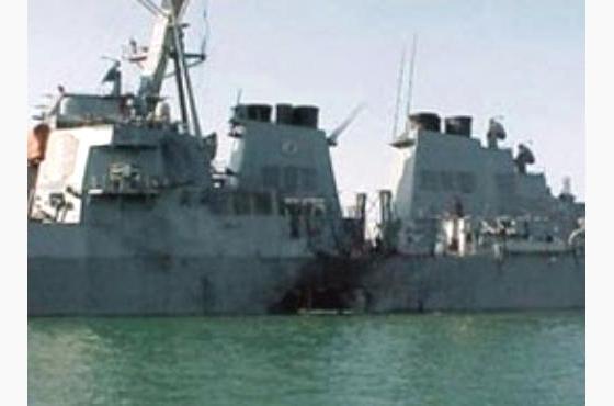 المتهم في حادثة تفجير كول الأمريكية قبالة سواحل  اليمن يخضع للمحاكمة الاربعاء