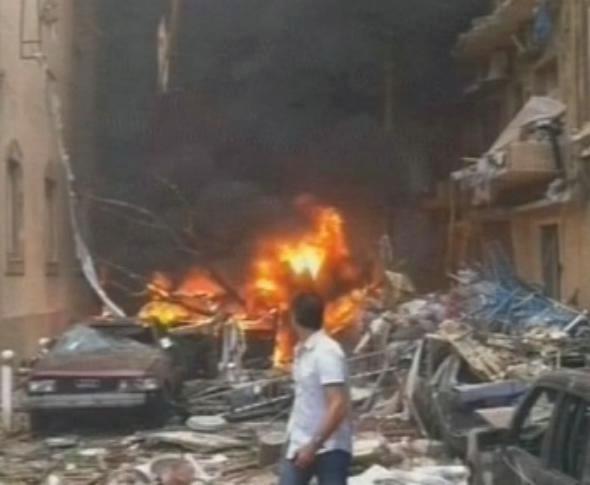 لبنان: الحريري وجنبلاط يتهمان بشار الأسد بالوقوف وراء اغتيال وسام الحسن