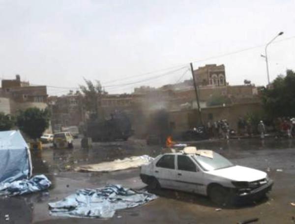 قتلى وجرحى أثناء اقتحام الحوثيين لمقر الأمن القومي في صنعاء.. ودعوة للتصعيد (أسماء وصور)