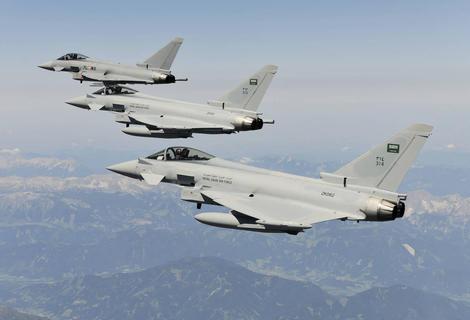 طيران التحالف يجدد غاراته على مواقع الحوثيين في تعز