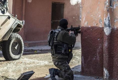 مواجهات بين الأمن التركي وشبان أكراد
