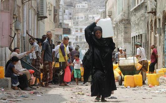 العطش يطارد اليمن الغارق في الحرب