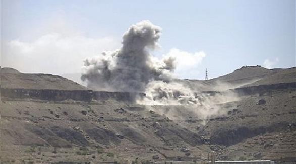 """صنعاء: 11 غارة جوية للتحالف في معسكر """"العرقوب"""" خولان"""