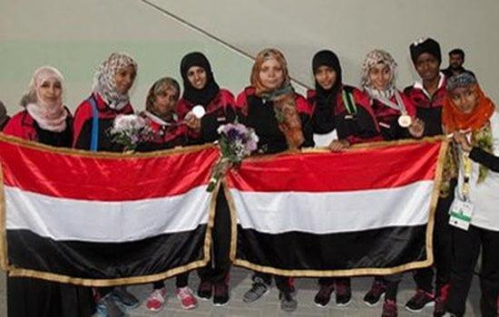 فتيات اليمن يحرزن خمس ميداليات بدورة الألعاب للأندية العربية للسيدات