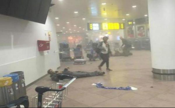 بلجيكا: قتلى وجرحى في انفجارات استهدفت مطار ومترو بروكسل (فيديو)