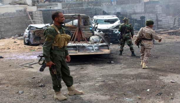 مقتل جنديين اثنين جراء انفجار عبوة ناسفة في أبين