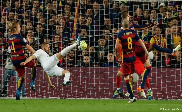 بعشرة لاعبين ريال مدريد يهزم برشلونة على أرضه (فيديو)