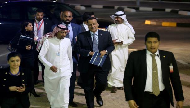 المبعوث الأممي ولد الشيخ يعود غداً إلى الكويت لإدارة المشاورات