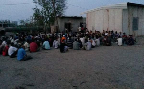 أمن عدن يرحل 842 عامل من أبناء المحافظات الشمالية