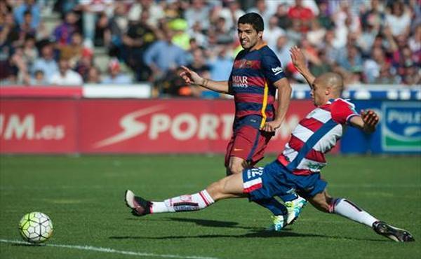 برشلونة بطلا للدوري الإسباني (فيديو)