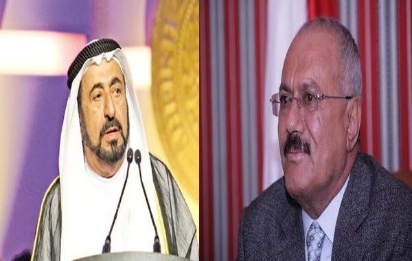 حاكم الشارقة يوضح حقيقة ما نسب إليه حول أصل الرئيس السابق صالح
