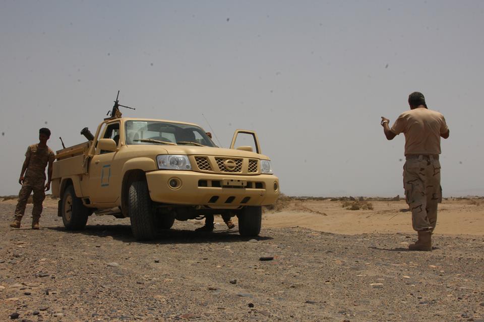 قوات أمنية في عدن - الحزام الأمني