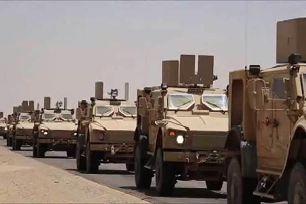 التحالف يدفع بتعزيزات عسكرية إلى لحج