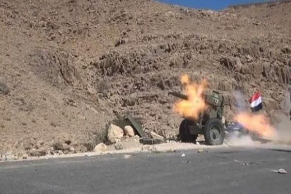 تجدد الاشتباكات بين قوات الشرعية والحوثيين في نهم شرق صنعاء