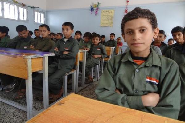 الصليب الأحمر: 9 ملايين طفل بلا تعليم في أربعة بلدان منها اليمن