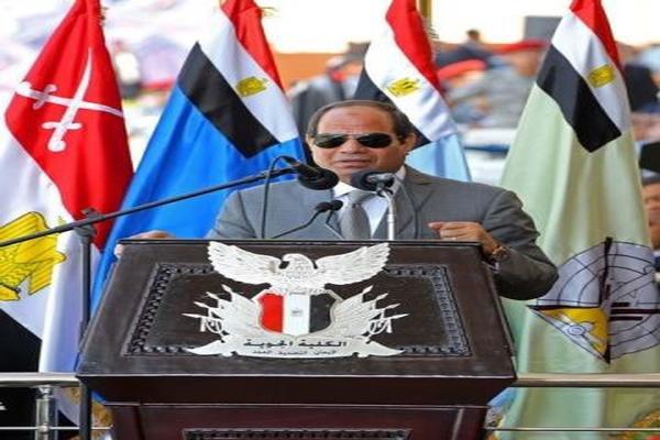 السيسي: مياه النيل حياة أو موت لمصر ولا يمكن المساس بها.. فيديو