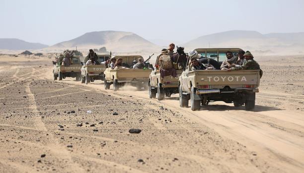 """عملية عسكرية واسعة لتحرير مدينة """"حرض"""" من الحوثيين"""