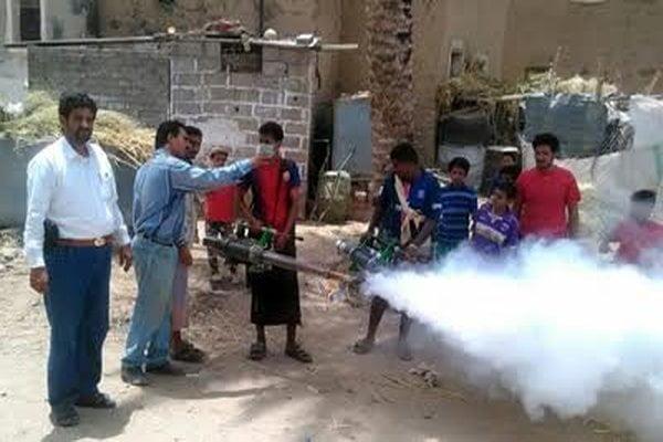 استئناف المرحلة الثانية من حملة الرش الضبابي في عدن وتعز وحضرموت