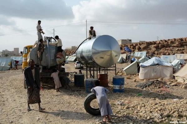 ارتفاع عدد النازحين في اليمن