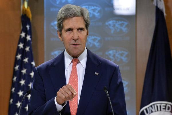 كيري: الرئيس اليمني هادي ارتكب خطأ كبيراً