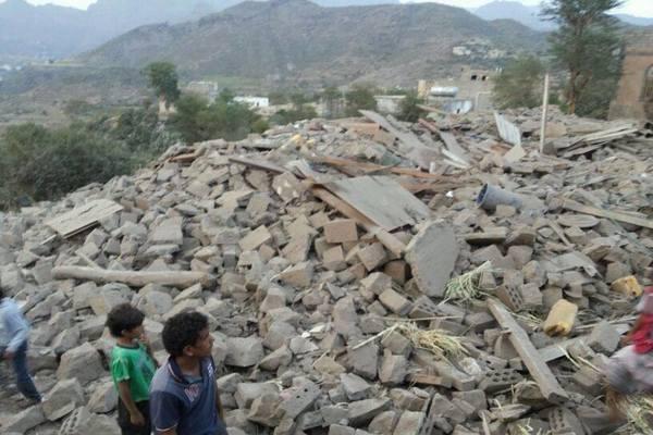 الاشتراكي يتهم الحوثيين بتفجير منزل أحد قياداته في تعز