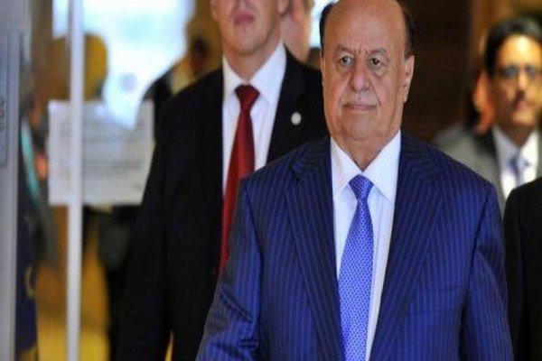 هادي: تحفظنا على مبادرة ولد الشيخ لأنها تتجاوز قرار مجلس الأمن