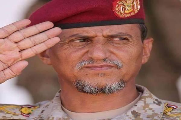 استشهاد قائد المنطقة العسكرية الثالثة اللواء الركن عبدالرب الشدادي بمأرب