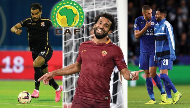 9 لاعبين عرب..الإعلان عن المرشحين لجائزة أفضل لاعب أفريقي