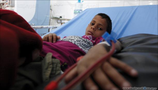 الصحة العالمية: 18 إصابة و340 حالة اشتباه بمرض الكوليرا في اليمن.. بيان