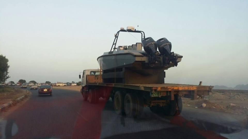 الإمارات تزود الحزام الأمني في عدن بزاورق بحرية33