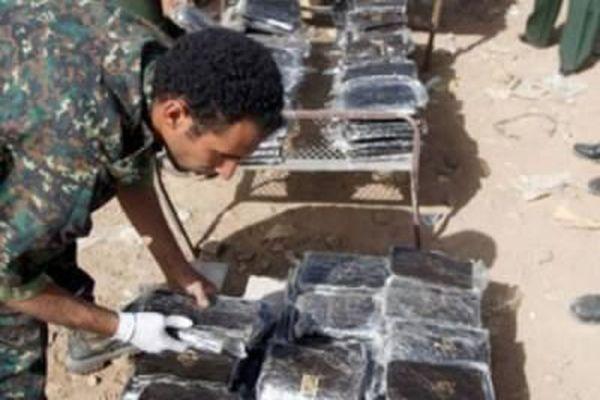 ضبط 120 كيلو حشيش وستة آلاف قرص مخدر بصنعاء