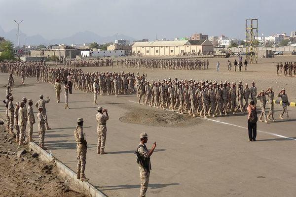 تخرج دفعة ثانية من قوات الأمن الخاصة في محافظات عدن لحج أبين الضالع.. صور