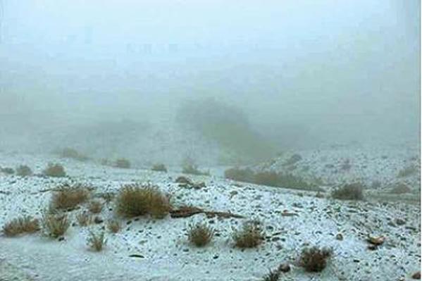 مركز الأرصاد يتوقع تكون الصقيع على أجزاء من المناطق الجبلية