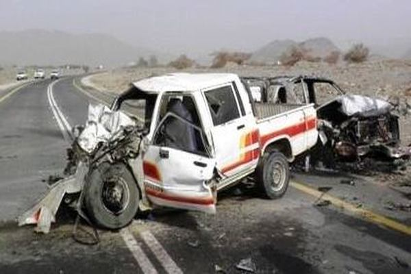 وفاة وإصابة 14 شخصاً في حادث مروري بمحافظة البيضاء