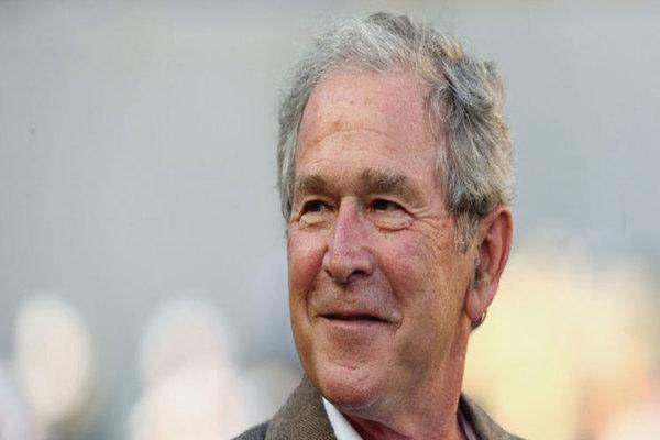 جورج بوش يرفض التصويت لهيلاري أو ترامب ويصوت بورقة بيضاء