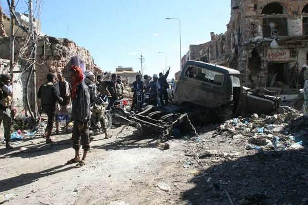 مراسل: هذا ما حدث بقصف الخيامي في محافظة تعز اليوم