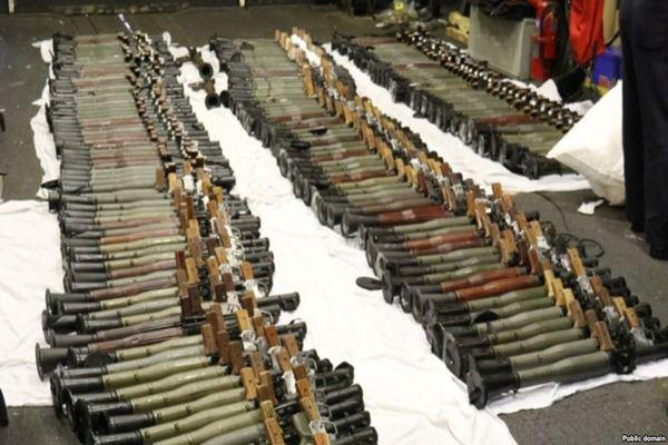 تقرير دولي يكشف دور إيران بتهريب أسلحة للحوثيين