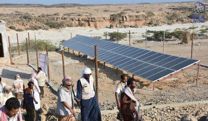 مشاريع الإغاثة في الطاقة الشمسية تنعش المنشآت الصحية في اليمن