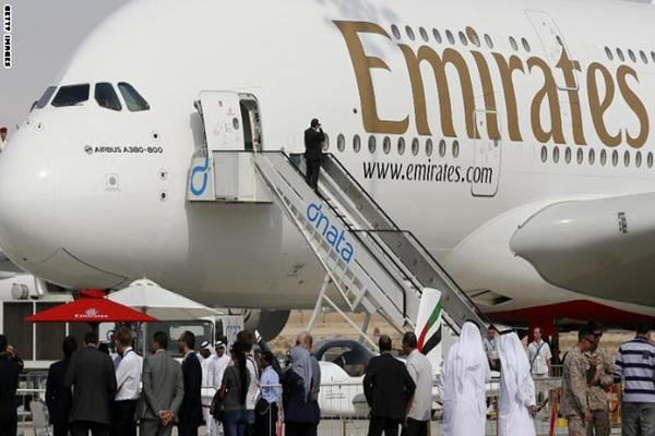 طيران الإمارات تُطلق أقصر رحلة لأكبر طائرة في العالم