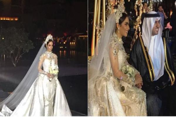 تكلفة خيالية لحفل زفاف الفنانة بلقيس أحمد فتحي