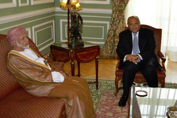 وزيرا خارجية مصر وعمان يبحثان بمسقط الأزمات في سوريا واليمن والعراق