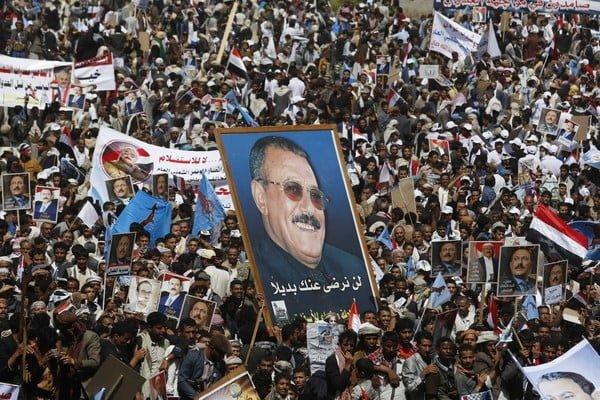 واشنطن بوست: صالح يعود للمشهد بعد سنوات من الربيع العربي