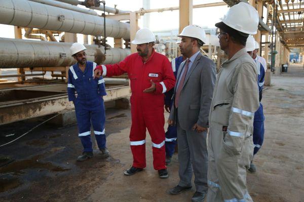 وزارة النفط: نعمل على استئناف التصدير من قطاعات صافر وجنة هنت والعقلة