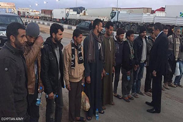 الإفراج عن 13 مصرياً خطفوا في شرق ليبيا
