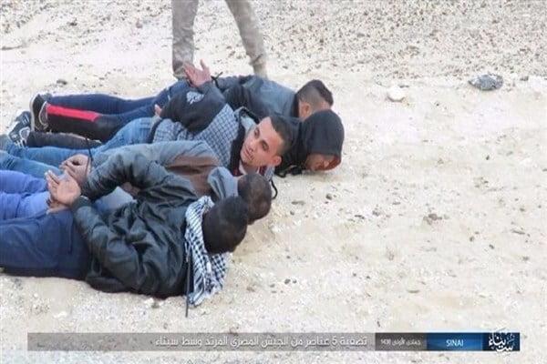 داعش يعدم 5 مصريين في سيناء