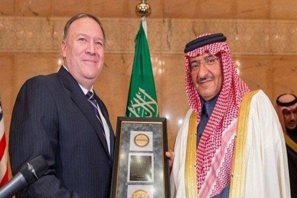 وكالة الاستخبارات المركزية الأمريكية تكرم ولي العهد السعودي