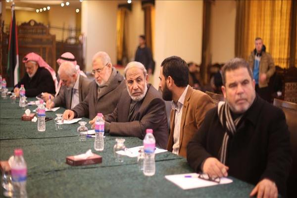 لقاء مشترك بين نواب غزة و رابطة برلمانيون لأجل القدس بإسطنبول