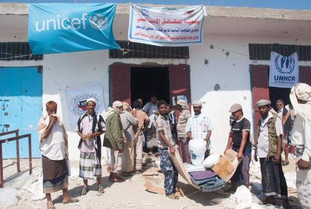 توزيع مساعدات إيوائية في مديرية عسيلان بشبوة ضمن خطة العمليات الإنسانية الشاملة
